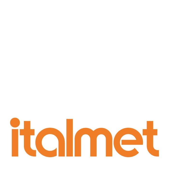italmet logo negativo